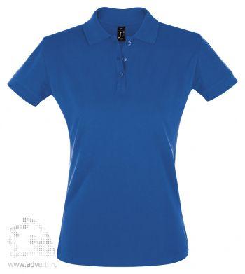 Рубашка поло «Perfect women 180», женская, синяя