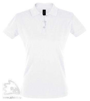 Рубашка поло «Perfect women 180», женская, белая