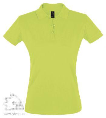 Рубашка поло «Perfect women 180», женская, светло-зеленая