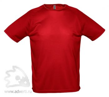 Футболка «Sporty 140», мужская, красная