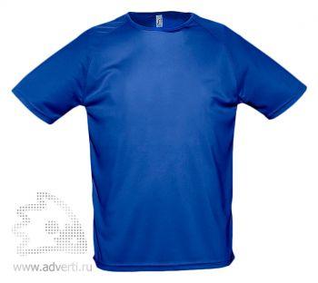 Футболка «Sporty», мужская, синяя