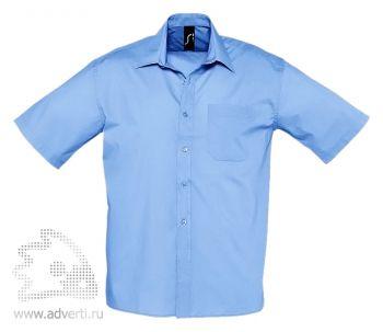 Рубашка «Bristol», мужская, синяя