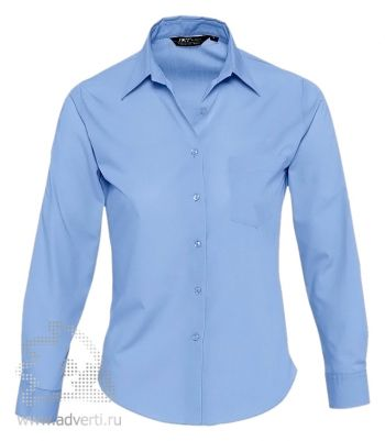 Рубашка «Executive», женская, синяя
