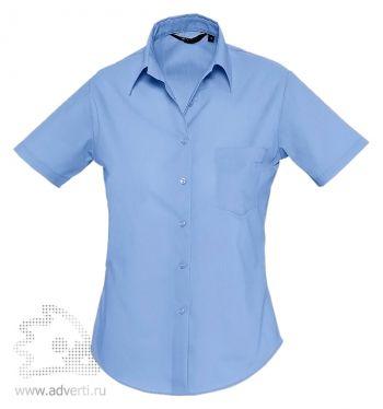 Рубашка «Escape», женская, голубая