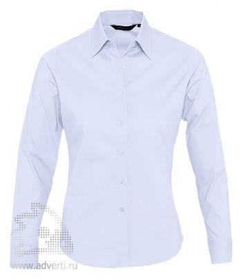 Рубашка «Eden», женская, голубая