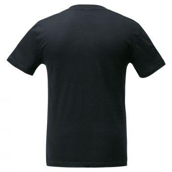 Футболка «Промохит», мужская, чёрная, спина