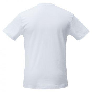Футболка «Промохит», мужская, белая, спина