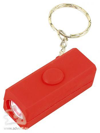 Брелок-фонарик «Маяк», красный