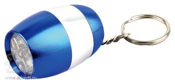 Брелок-фонарик «Боллен» синий