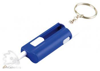 Брелок-ручка с фонариком «Фотон», синий, оборот