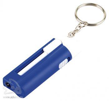 Брелок-ручка с фонариком «Фотон», синий