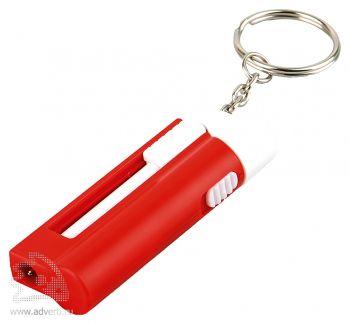 Брелок-ручка с фонариком «Фотон», красный