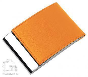 Визитница «Моника», оранжевый