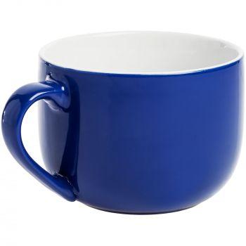 Кружка «Good Afternoon», синяя, ручка