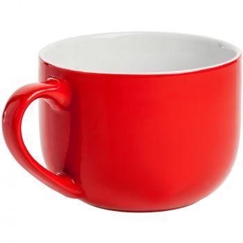 Кружка «Good Afternoon», красная, ручка