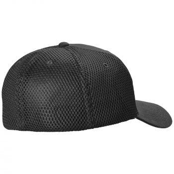 Бейсболка «Ronas Hill», чёрная, вид сзади