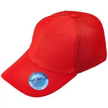 Бейсболка «Ronas Hill», красная, козырёк