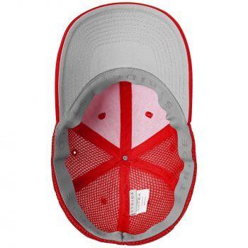 Бейсболка «Ronas Hill», красная, вид изнутри