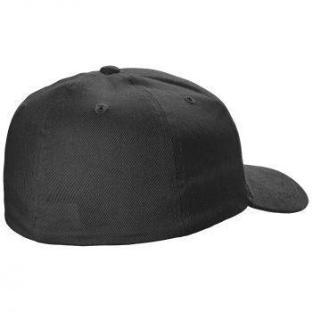 Бейсболка «Beinn Eighe», чёрная, вид сзади
