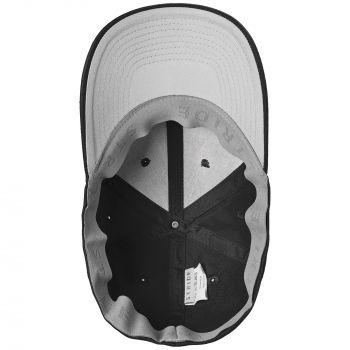 Бейсболка «Beinn Eighe», чёрная, вид изнутри