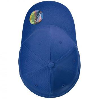 Бейсболка «Beinn Eighe», ярко-синяя, вид сверху
