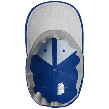Бейсболка «Beinn Eighe», ярко-синяя, вид изнутри