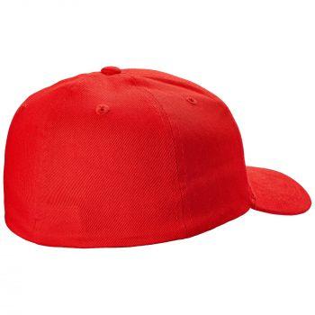Бейсболка «Beinn Eighe», красная, вид сзади