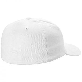 Бейсболка «Beinn Eighe», белая, вид сзади
