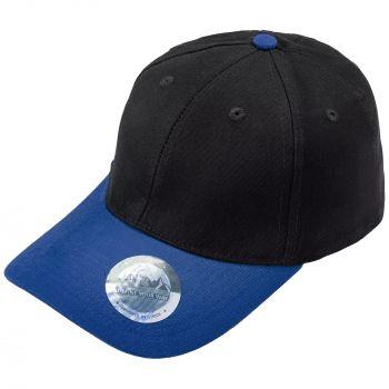 Бейсболка «Ben Loyal», синяя, козырёк