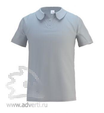 Рубашка поло «Stan Primier», мужская, серая