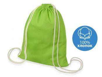 Подарочный набор «Klap», зеленый, рюкзак-мешок