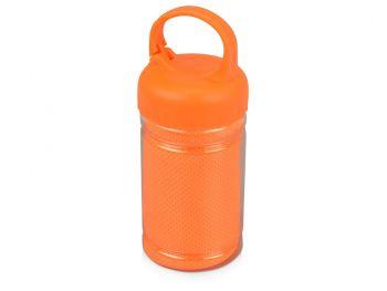 Подарочный набор «Klap», оранжевый, контейнер для полотенца