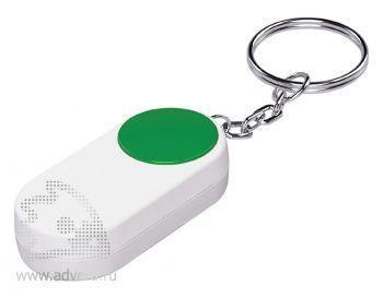 Брелок-футляр для таблеток «Pill», зеленый