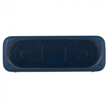 Беспроводная колонка Sony SRS-40, синяя, вид спереди