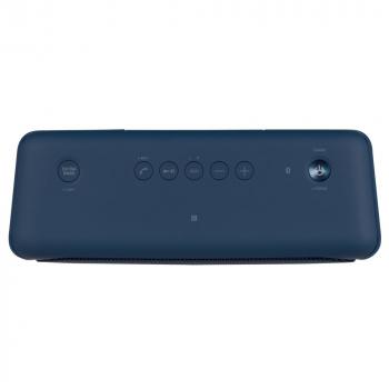 Беспроводная колонка Sony SRS-40, синяя, вид сверху