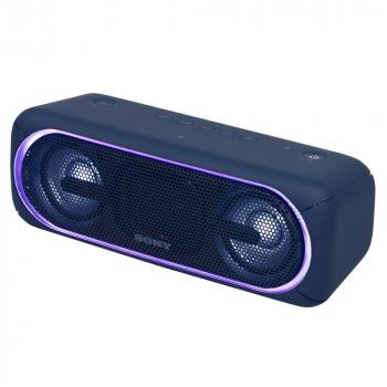 Беспроводная колонка Sony SRS-40, синяя, подсветка