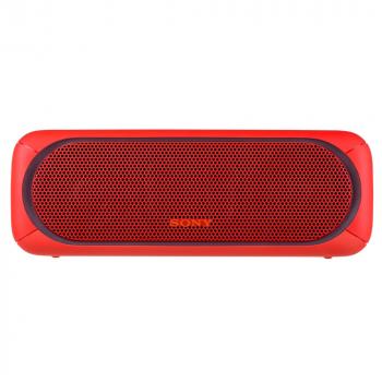 Беспроводная колонка Sony SRS-40, красная, вид спереди