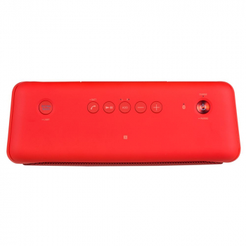 Беспроводная колонка Sony SRS-40, красная, вид сверху