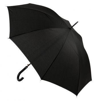 Зонт-трост «Oxford» с ручкой из искусственной кожи, полуавтомат, купол