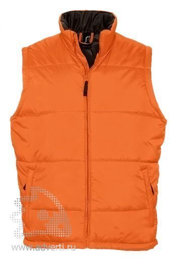 Жилет «Warm», мужской, оранжевый