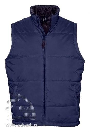 Жилет «Warm 210», мужской, темно-синий
