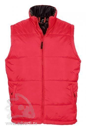 Жилет «Warm 210», мужской, красный