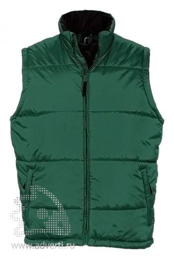 Жилет «Warm», мужской, зеленый