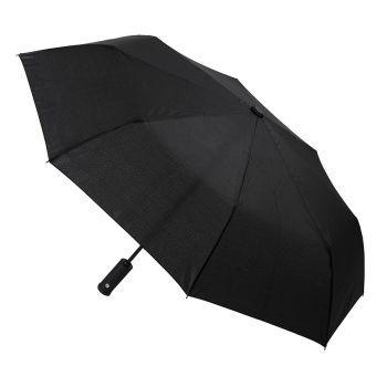 Зонт складной «Preston» с ручкой-фонариком, полуавтомат, купол