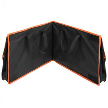 Органайзер в багажник автомобиля Carmeleon, черный с оранжевым