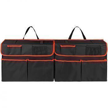 Органайзер-трансформер в багажник автомобиля Carmeleon, в разложенном виде, спереди