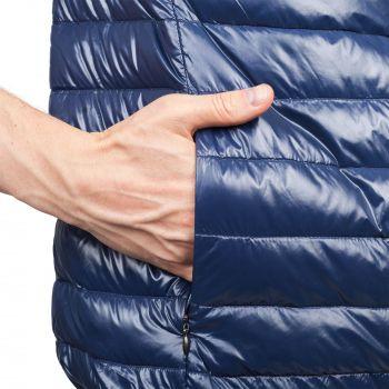 Жилет «Harlosh», унисекс, темно-синий, два наружных кармана