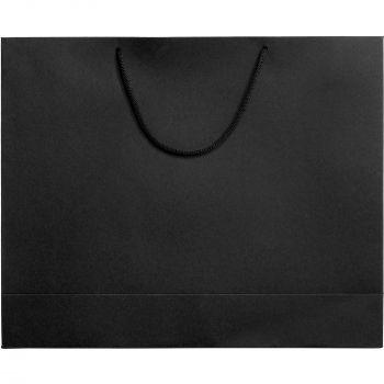 Пакет «Ample L», чёрный, вид спереди