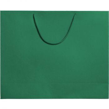 Пакет «Ample L», зелёный, вид спереди