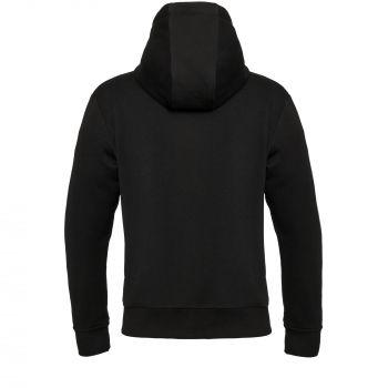 Толстовка «Kulonga Heavy Zip», мужская, чёрная, спина
